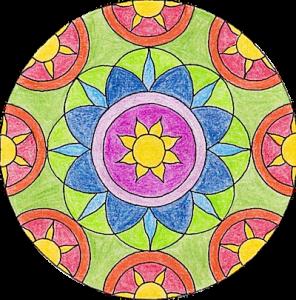 Mandala Rose 2