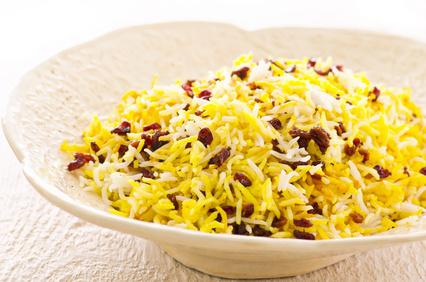 Sereshk Solo - Persischer Reis